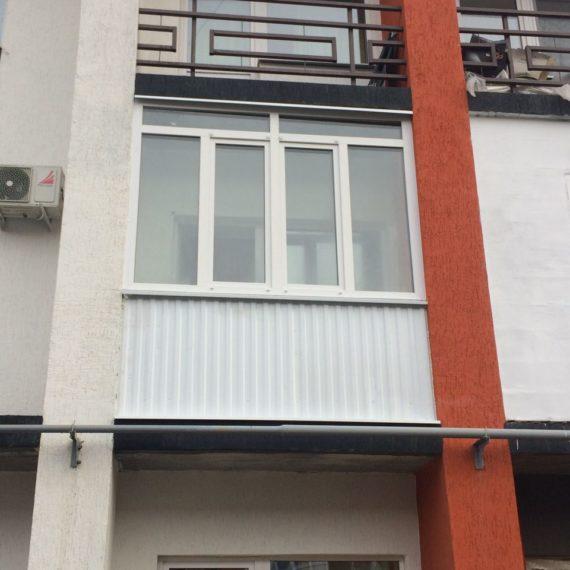 Остекление балконов и лоджий в Оренбурге по низким ценам