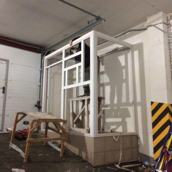 Пластиковые конструкции охранной будки в Оренбурге по индивидуальным заказам