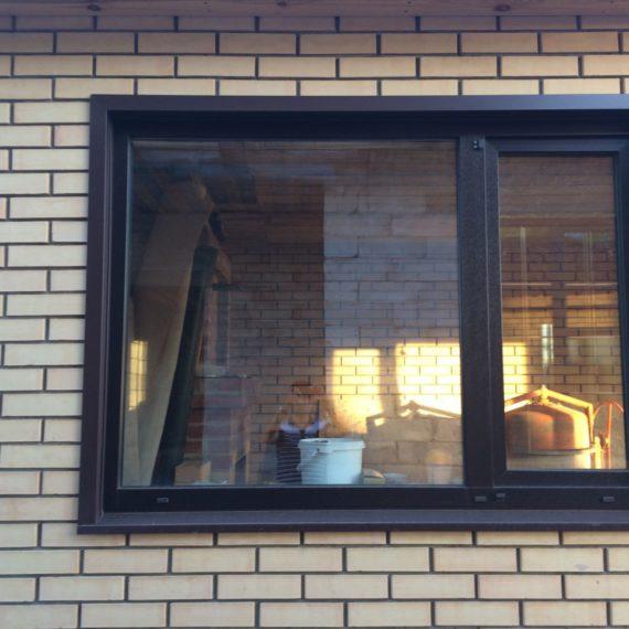 Пластиковые окна в коттедже Оренбург