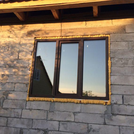 Пластиковые окна в загородном доме Оренбурга