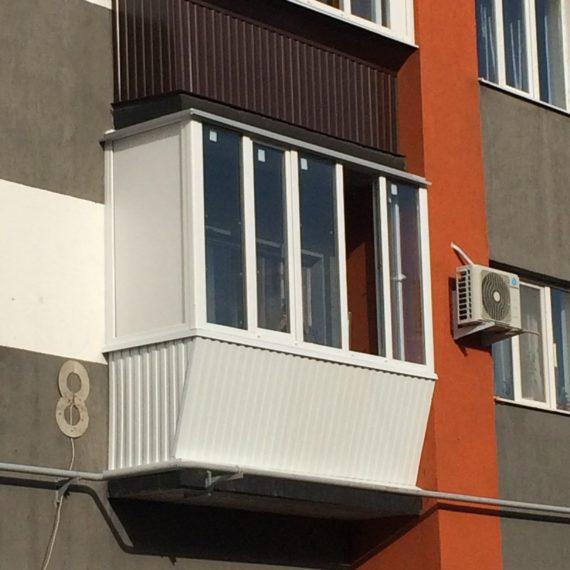 Остекление балконов 12 от компании