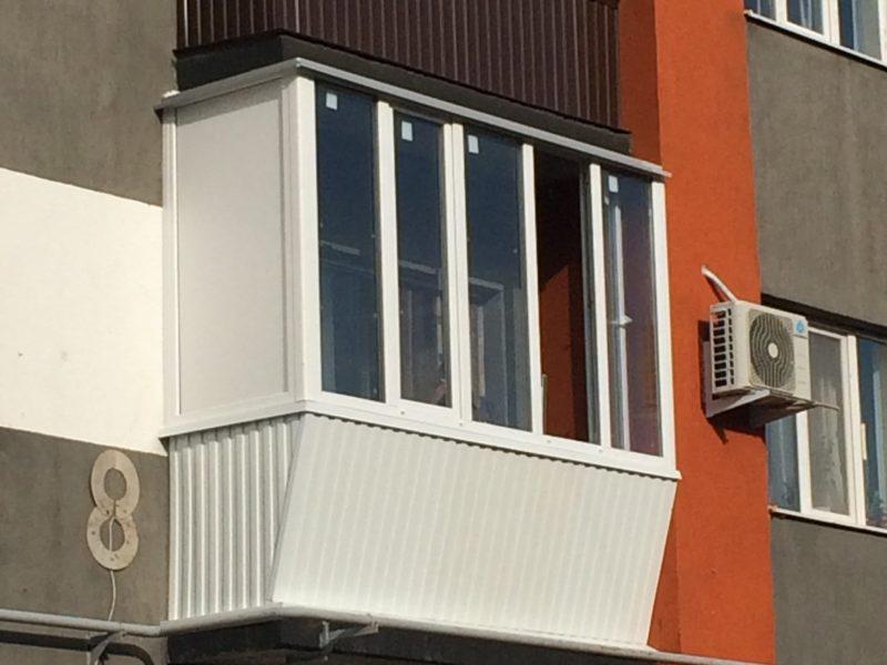 """Остекление балконов 12 от компании """"Оконика"""" в Оренбурге"""