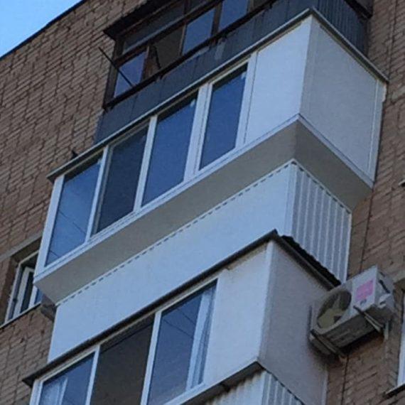 Остекление балконов 14 от компании