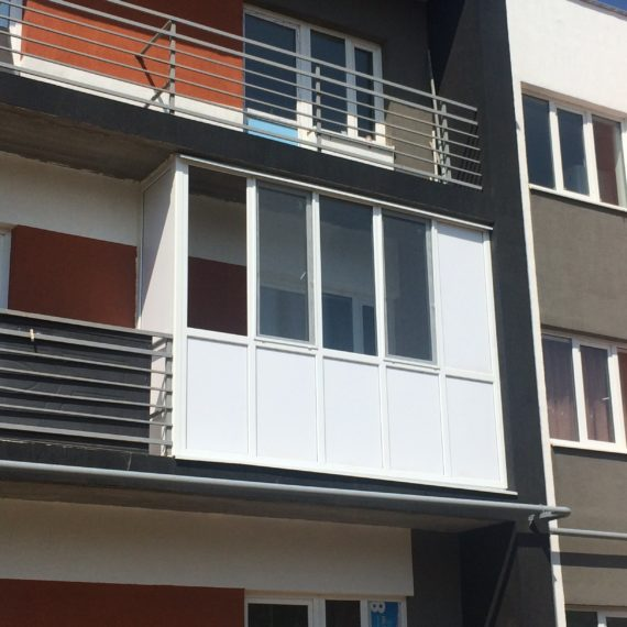 Остекление балконов 2 от компании