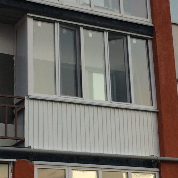 Остекление балконов 3 от компании